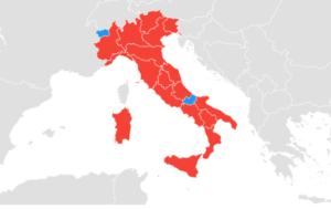 interesse per regione - keyword a confronto